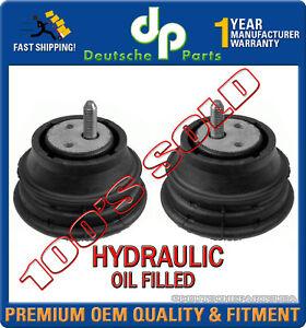HYDRAULIC Engine Motor Mount Mounts L + R  for BMW E39 525i 528i 22116754608 x 2