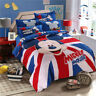 Beautiful Bedding Sets Blue for Kids Boys Room Twin King Queen Size Conforter
