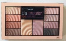 New Maybelline Total Temptation Eyeshadow + Highlight Palette