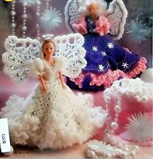 Annie's Attic Fashion Doll Angels Crochet Pattern Book 1993