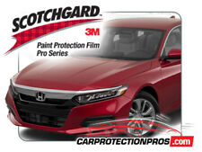 2018-2019 Honda Accord Sedan 3M Pro Series Clear Bra Bumper Paint Protection Kit