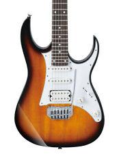 Guitares électriques Ibanez 6 cordes sunburst