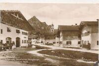 Alte Ansichtskarte, Mittenwald, Unterer Markt, (G)19401