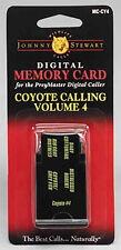 johnny stewart card preymaster digital caller coyote calling volume 4 new MC-CY4