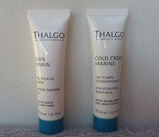 Thalgo Marine Shower Gel + 24H Hydrating Body Milk, 30ml+30ml, Brand New!