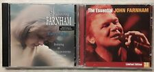 JOHN FARNHAM  The Essential 3 CD  + WHERE DO I BEGIN  Johnny JIMMY BARNES 1995