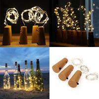 LED Fairy String Lights Copper Wire String Light for Glass Craft Bottle