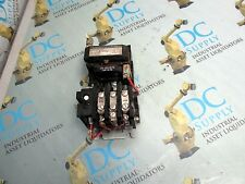 GENERAL ELECTRIC CR306AO 600 V 9 A 3 PH 15D21G002 COIL SZ 0 MOTOR STARTER