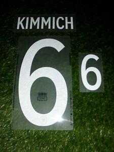 Josuha Kimmich Trikot Flock Set DFB Deutschland Bayern 2020 wie Matchworn Trikot