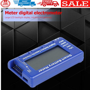 5 in 1 Smart Battery Meter with Balance Discharge ESC Servo PPM Tester