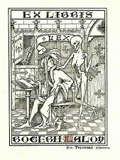 EX-LIBRIS  de Roger LALOY. Flandre.