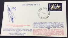 1976 skylark sl115 rocket cover with woomera cancel