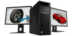 HP Z440 Workstation Win7 Xeon E5 1660v3 3GHz 32GB RAM 1TB Nvidia Quadro K620 2GB