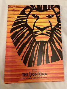🎭 The Lion King (Lyceum Theatre) 🦁 West End Musical Souvenir Brochure Oct 2004