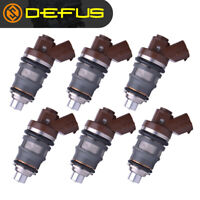 6pcs 1001-87092 Fuel Injector 800cc For Toyota Supra 2JZ GTE SARD Celica