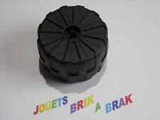 Lego roue Espace noire Wheel Black Hard Plastic Giant D 71mm x 47mm ref 2573