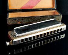 More details for vintage hohner chromonica 257, harmonica, larry adler