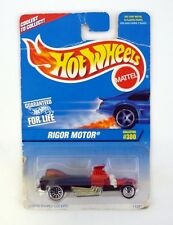 HOT WHEELS RIGOR MOTOR #300 Die-Cast Car MOC COMPLETE 1996