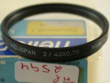 Original Heliopan Nahlinse Close-up Filter Lens +2 43Ø E-43mm Germany 2594/8