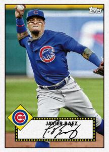 2021 Topps MLB Digital NFT 1952 Redux Javier Baez 414/600 Event Exclusive RC