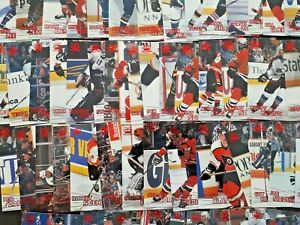 1997-98 Pacific Crown Collection - RED (Upick from List $1.25 ea), Mint Cond.