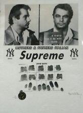 'John Gotti, NY. Mafia Series, Supreme' Ltd. Ed. Print Signed Fairchild Paris
