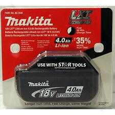 Makita BL1840 18V 4.0Ah LXT Li-Ion Battery Genuine Star batteryMade in Japan