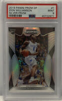 2019-20 Panini DP ZION WILLIAMSON SILVER PRIZM RC #1 PSA 9 Mint