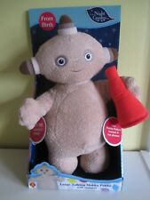 Large Soft Toy In The Night Garden Talking Makka Pakka with Trumpet NEW BOXED
