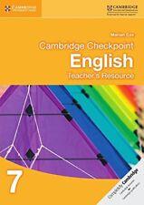 Cambridge Checkpoint English Teacher's Resource 7 (Cambridge International Exami