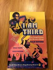 I Am Third The Inspiration Book Signed Auto GALE SAYERS CHICAGO BEARS