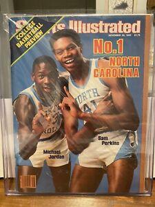 11 28 1983 Sports Illustrated Michael Jordan Sam Perkins UNC Tar Heels w/o Label