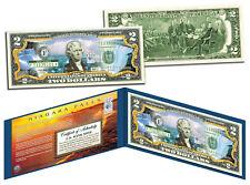 NIAGARA FALLS *Daytime View* COLORIZED Legal Tender $2 US Bill New York & Canada