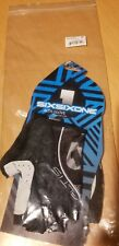 SIXSIXONE Mens ALTIS  Gloves Extra Small Black/Silver size 7 small FREE SHIPPING