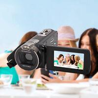 "2.7"" HDV-312P 1080P 24MP Digital Video Camera 16x digital Zoom DV Camera Black"