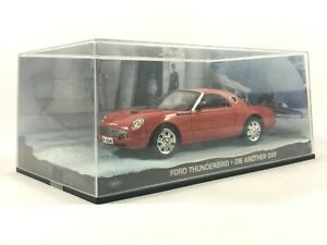 JAMES BOND 007 Collection FORD THUNDERBIRD *Die Another Day* Scale Model Car Toy