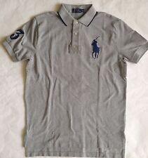 $99 NWT Mens Polo Ralph Lauren Big Pony 3 Short Sleeve Rugby Shirt