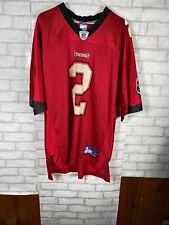 Reebok Nfl Chris Simms #2 Tampa Bay Buccaneers Football Jersey Size L autograph