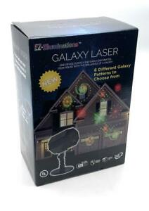 EZ Illuminations Holiday Galaxy Laser Indoor/Outdoor Projector With 6 Patterns