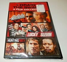 3 Film Collection: Matador Lucky # Slevin Hunting Party DVD WS NEW