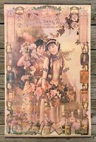"Vintage Chinese Kwong Sang Hong Limited Cosmetics Advertising Poster, 31""x19.5"""