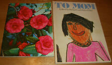 To Mom by Exley 1976 & Greetings On Mother's Day edited by Van Hooper 1956
