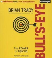 Bull's-Eye The Power of Focus - Brian Tracy BULLSEYE Audio book MP3 CD Brain