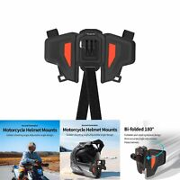 Motorcycle Helmet Strap Foldable Chin Mount for GoPro Hero 9 8 7 DJI Osmo Action