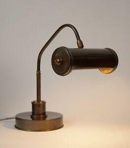 Klassische Art Deco Arbeitslampe Tischlampe Schreibtischlampe Kontorleuchte