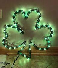 Shamrock Light Window St Patrick's Day Decoration Irish Indoor Outdoor Green