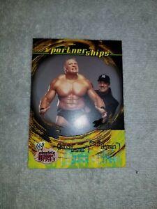 2002 Brock Lesnar Rookie Card RARE MINT PACK FRESH