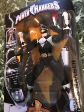 NEW BANDAI MIGHTY MORPHIN POWER RANGERS BLACK FIGURE LEGACY MIB BUILD A MEGAZORD