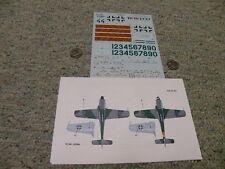 EagleCals  decals 1/48 EC#123 48-123 Ta 152C JG 301 WNR 110006   F126