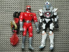 Vintage Mighty Morphin Power Rangers action figure lot accessories